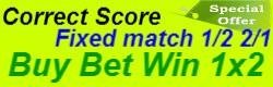 Correct Score fixed matches